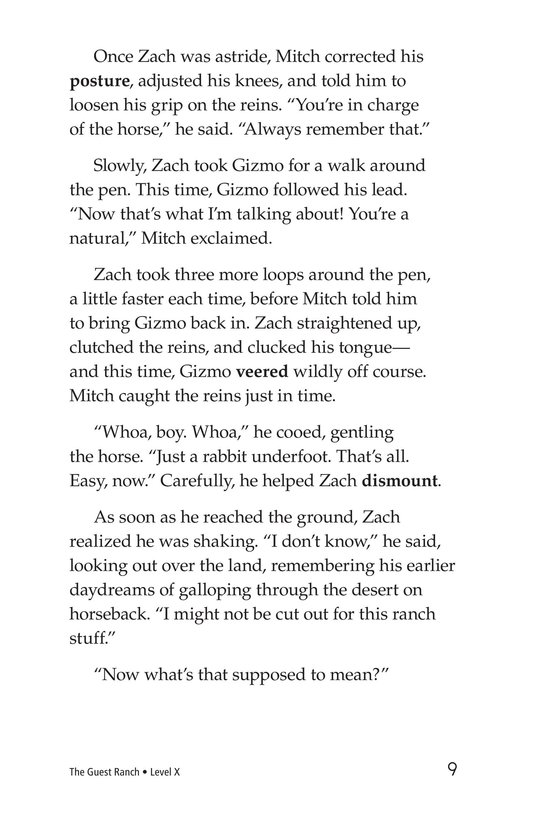 Book Preview For The Guest Ranch Page 9