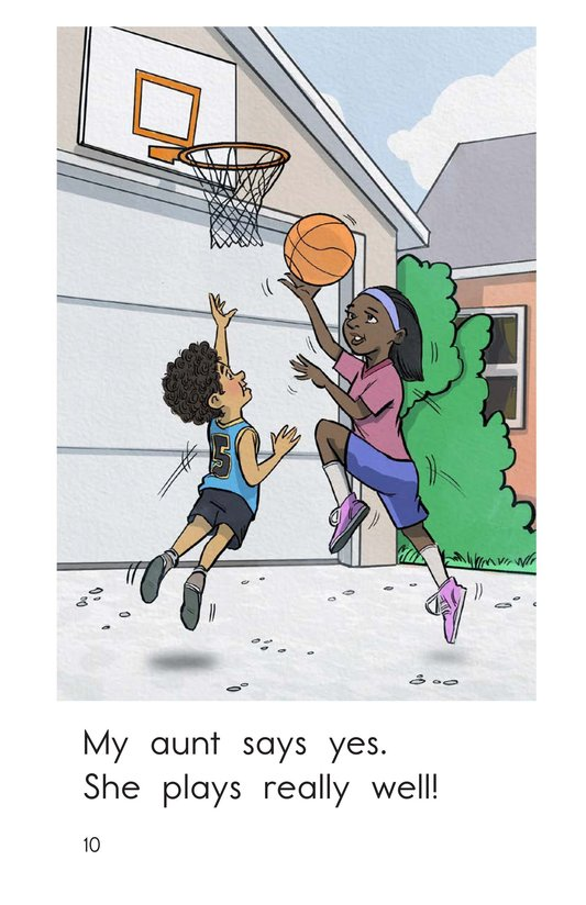Book Preview For Who Wants to Play Basketball? Page 10
