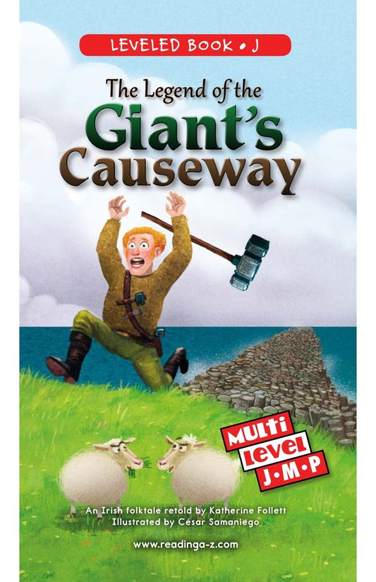 Book Preview For The Legend of the Giant's Causeway Page 0