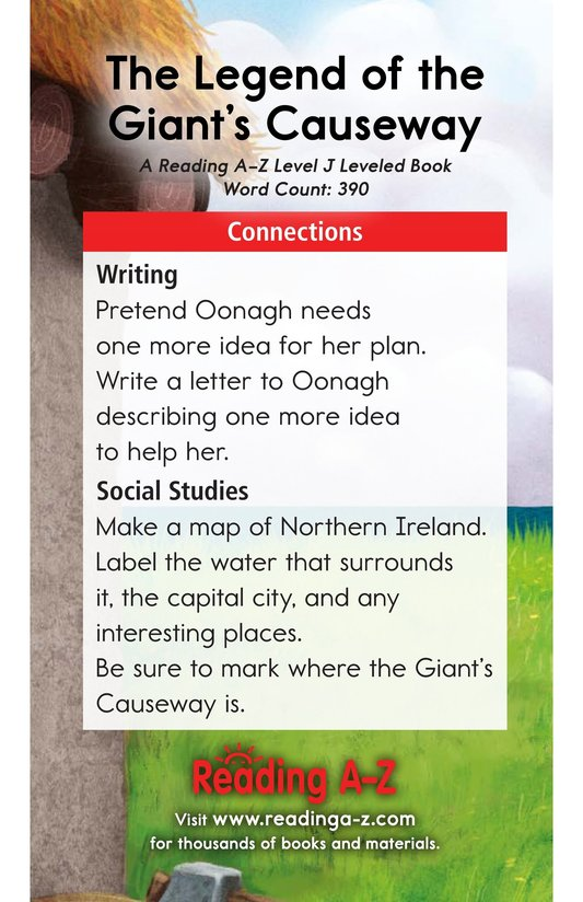 Book Preview For The Legend of the Giant's Causeway Page 17