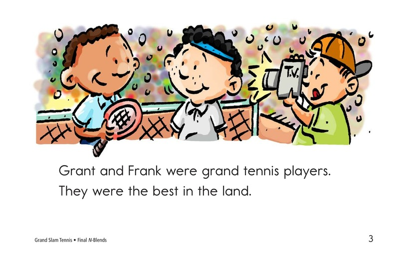 Book Preview For Grand Slam Tennis Page 3
