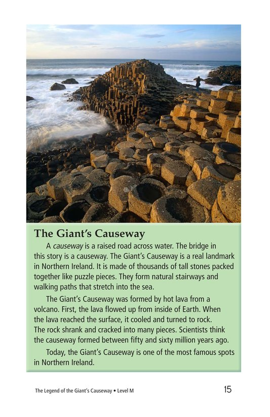 Book Preview For The Legend of the Giant's Causeway Page 15