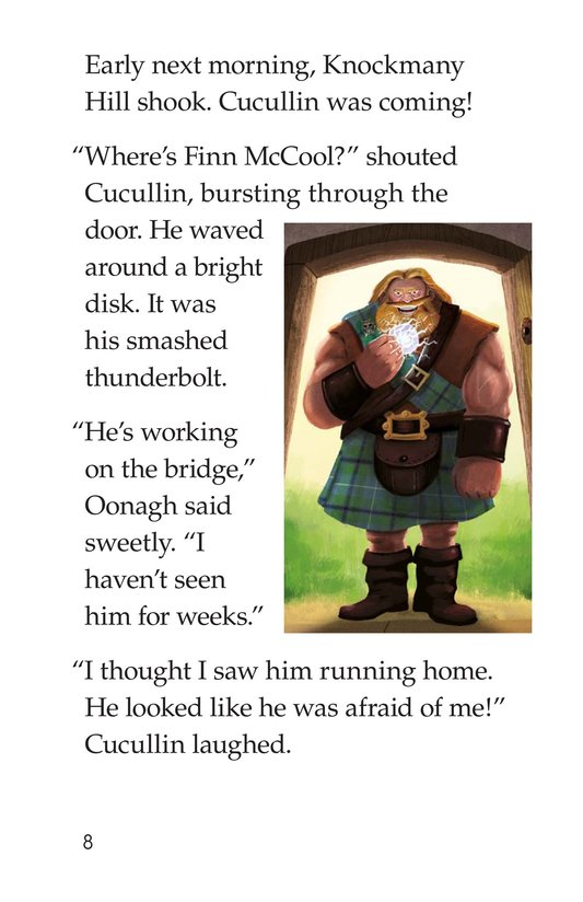 Book Preview For The Legend of the Giant's Causeway Page 8