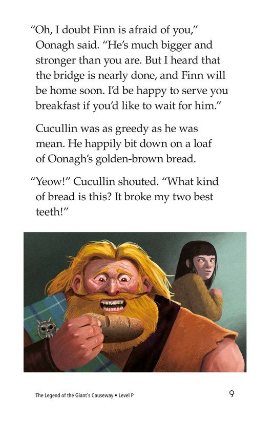Book Preview For The Legend of the Giant's Causeway Page 9