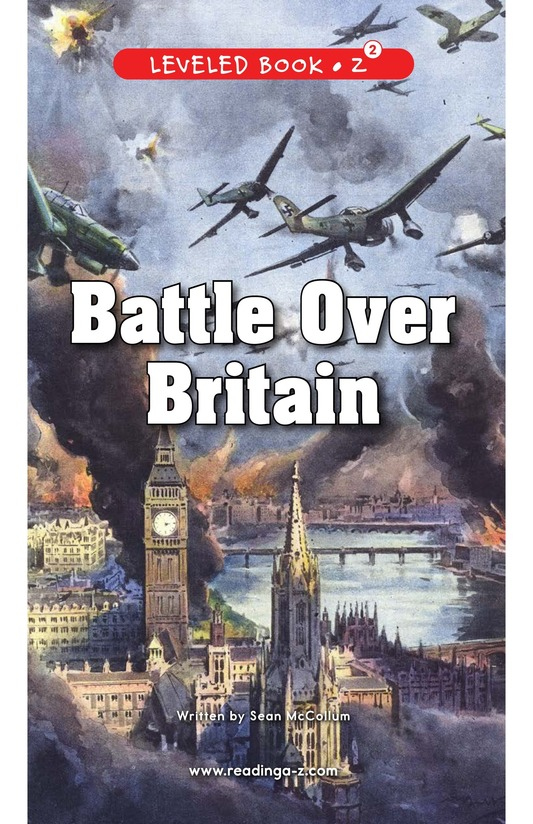 Book Preview For Battle Over Britain Page 0