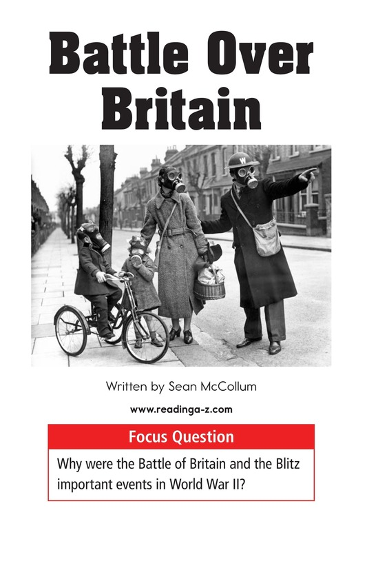 Book Preview For Battle Over Britain Page 1