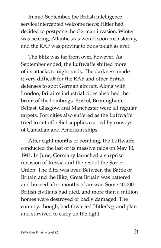 Book Preview For Battle Over Britain Page 21