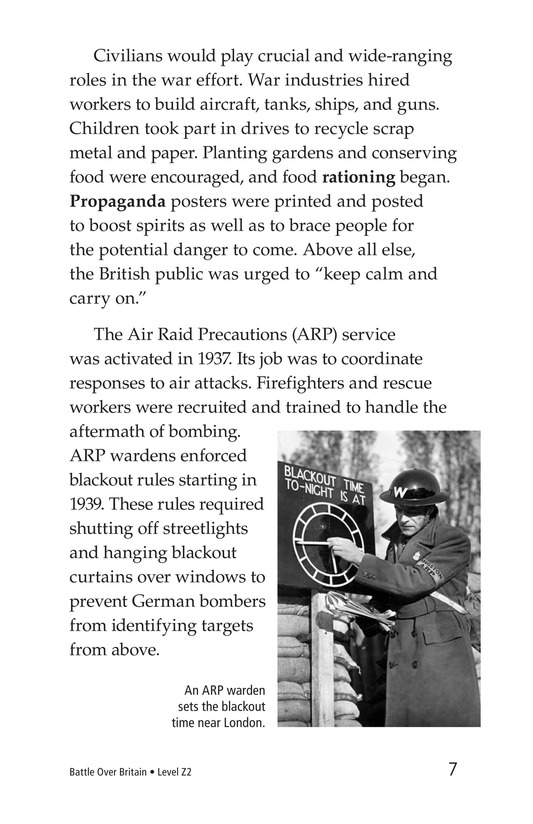 Book Preview For Battle Over Britain Page 7