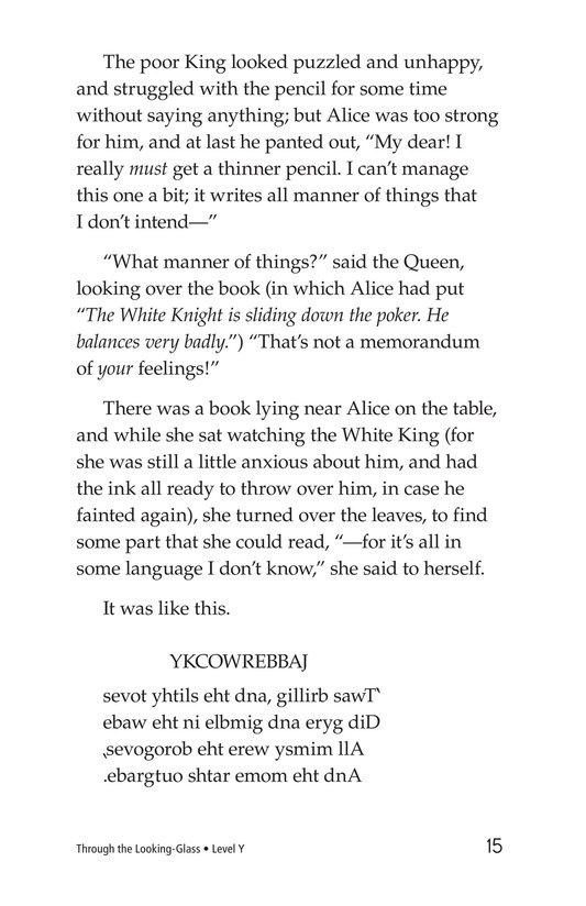 Book Preview For Through the Looking Glass (Part 1) Page 15