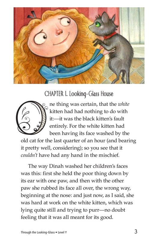 Book Preview For Through the Looking Glass (Part 1) Page 3