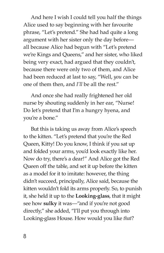Book Preview For Through the Looking Glass (Part 1) Page 8