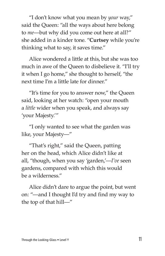 Book Preview For Through the Looking Glass (Part 2) Page 11