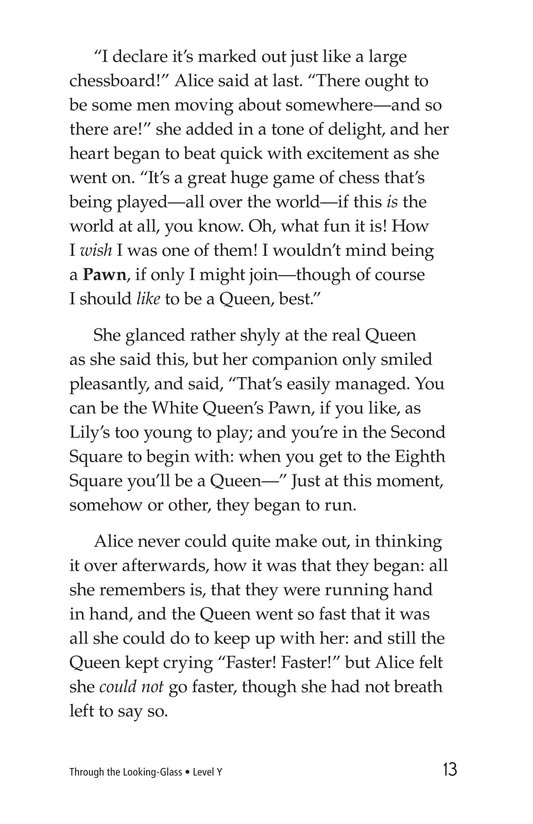Book Preview For Through the Looking Glass (Part 2) Page 13