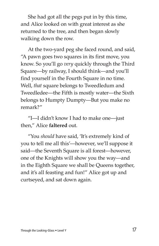 Book Preview For Through the Looking Glass (Part 2) Page 17