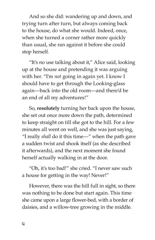 Book Preview For Through the Looking Glass (Part 2) Page 4