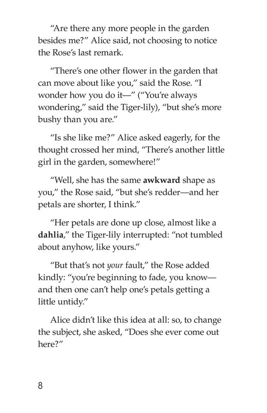 Book Preview For Through the Looking Glass (Part 2) Page 8