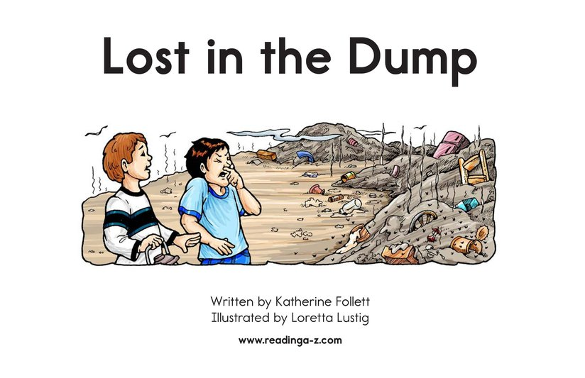 Book Preview For Lost in the Dump Page 2