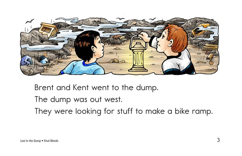 Book Preview For Lost in the Dump Page 3