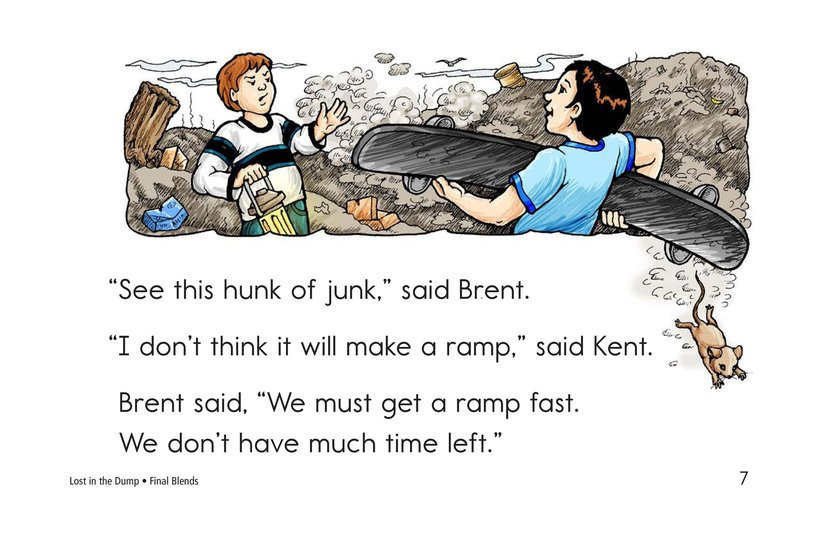 Book Preview For Lost in the Dump Page 7