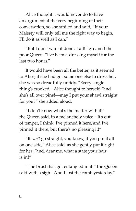 Book Preview For Through the Looking Glass (Part 5) Page 4