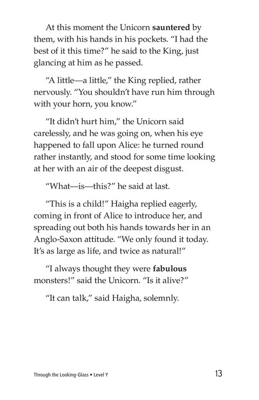Book Preview For Through the Looking Glass (Part 7) Page 13