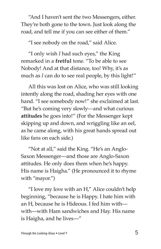Book Preview For Through the Looking Glass (Part 7) Page 5