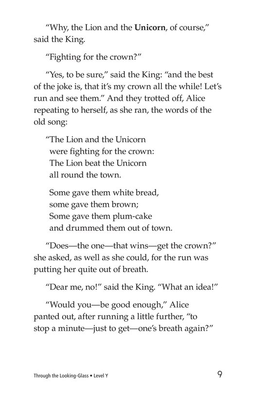 Book Preview For Through the Looking Glass (Part 7) Page 9