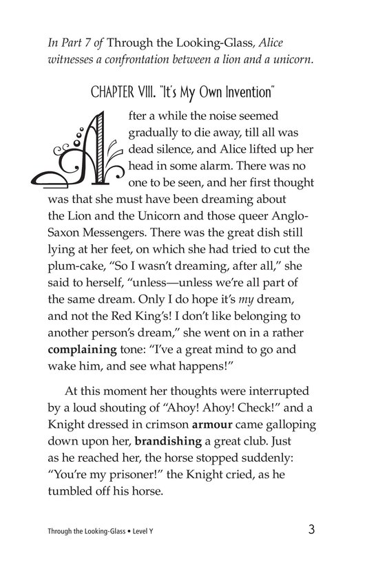 Book Preview For Through the Looking Glass (Part 8) Page 3