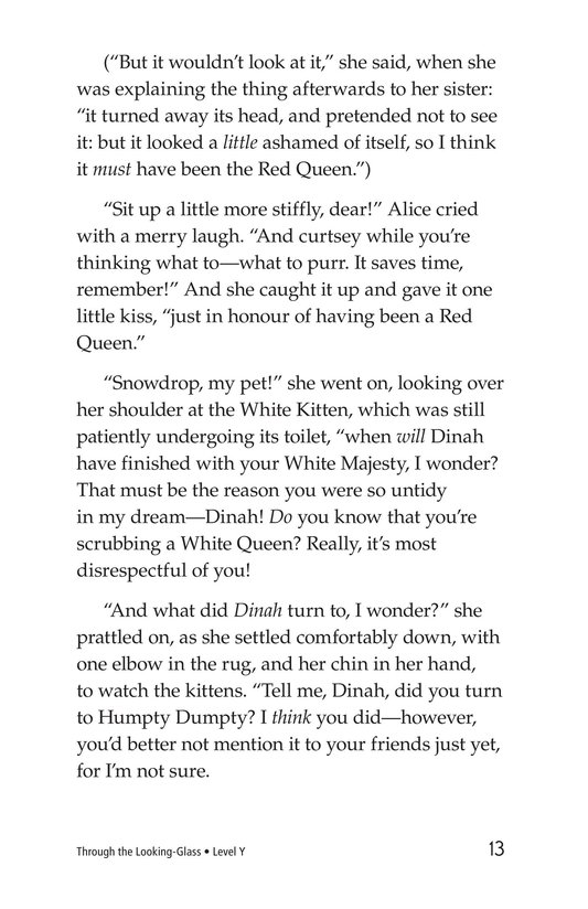 Book Preview For Through the Looking Glass (Part 10) Page 13