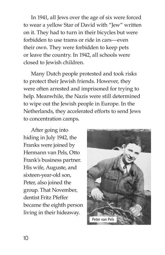 Book Preview For Anne Frank Page 10
