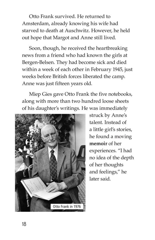 Book Preview For Anne Frank Page 18