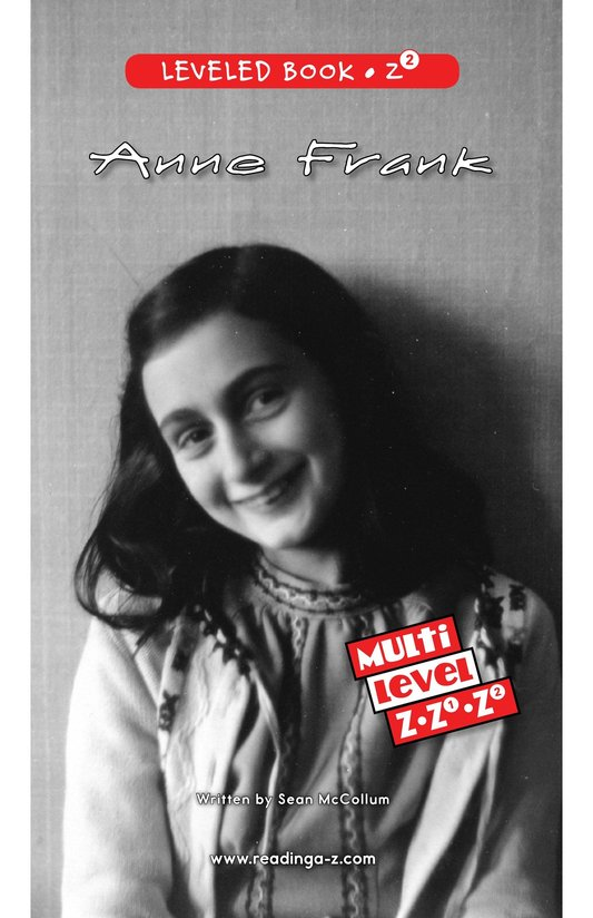 Book Preview For Anne Frank Page 0