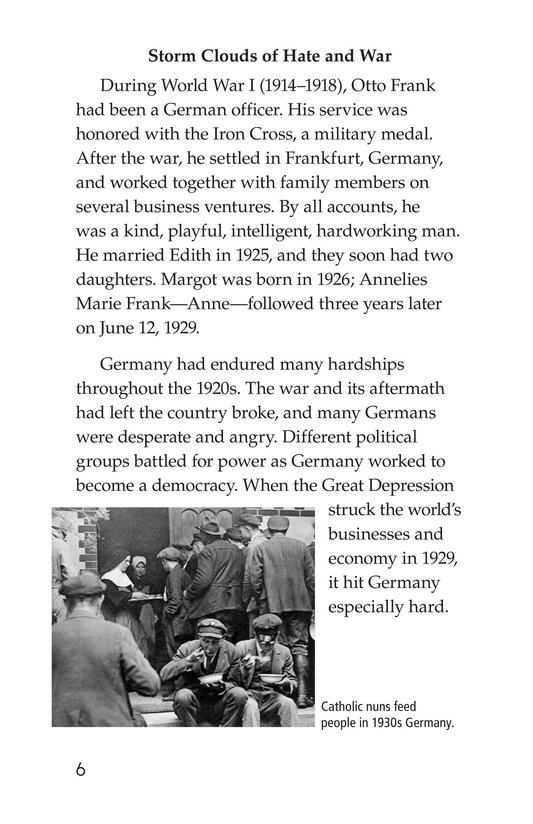 Book Preview For Anne Frank Page 6