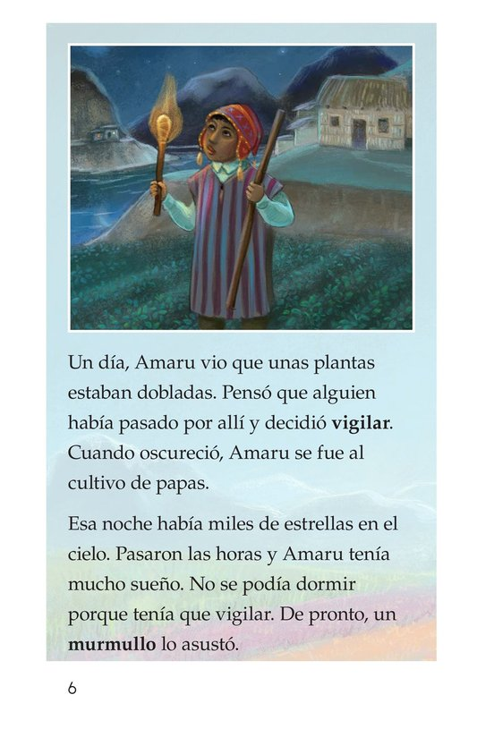 Book Preview For La leyenda de la quinua Page 6