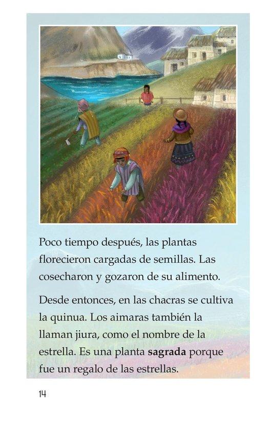 Book Preview For La leyenda de la quinua Page 14