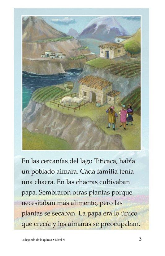 Book Preview For La leyenda de la quinua Page 3