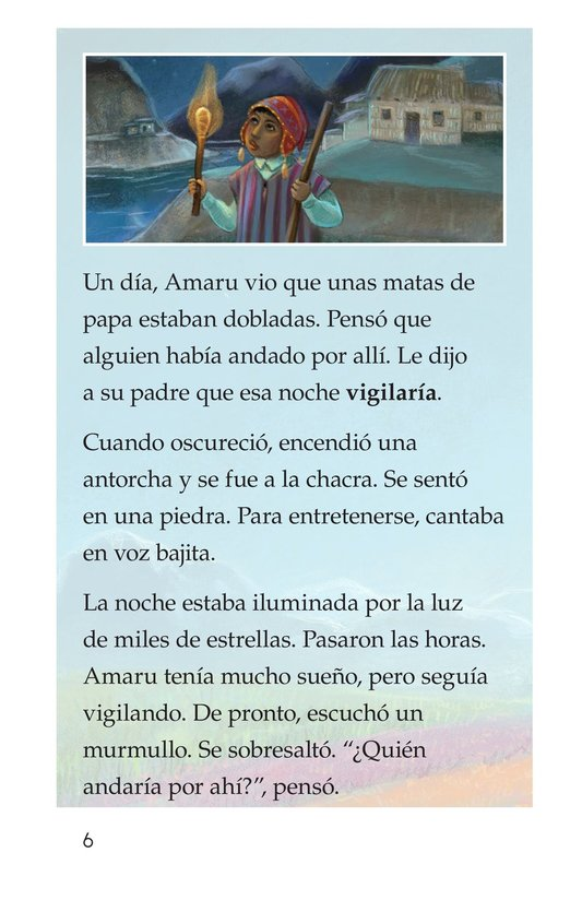 Book Preview For La leyenda de la quinua Page 6