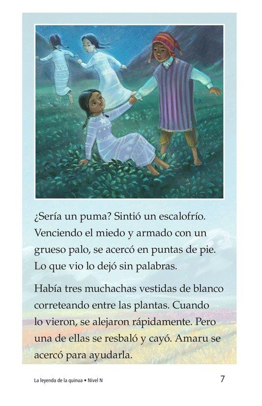 Book Preview For La leyenda de la quinua Page 7