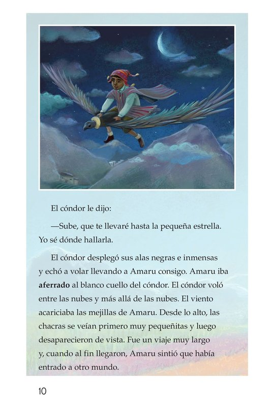 Book Preview For La leyenda de la quinua Page 10