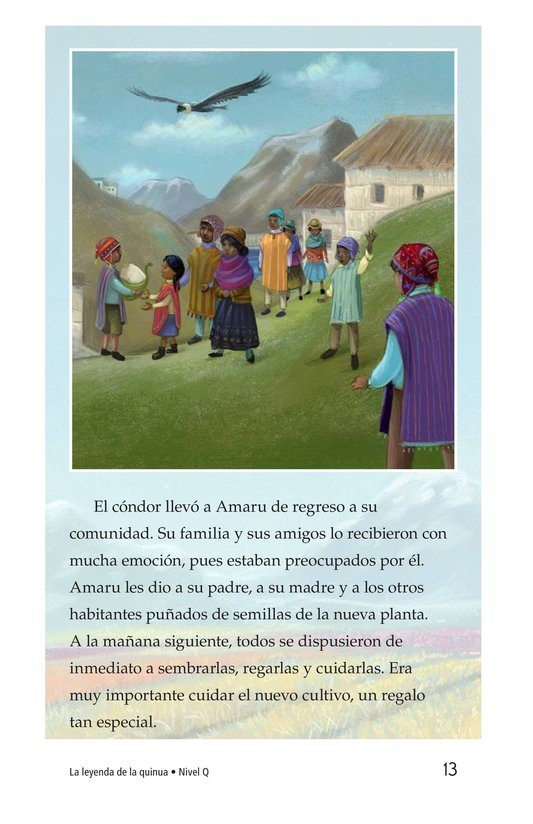 Book Preview For La leyenda de la quinua Page 13