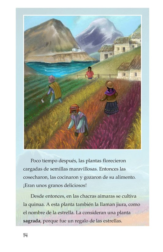 Book Preview For La leyenda de la quinua Page 14