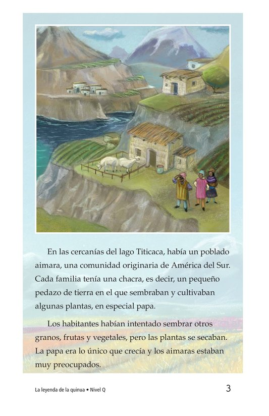 Book Preview For La leyenda de la quinua Page 3