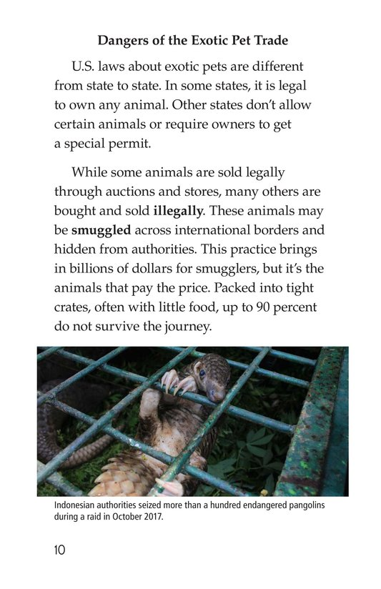 Book Preview For The Trouble with Exotic Pets Page 10