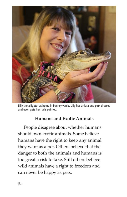Book Preview For The Trouble with Exotic Pets Page 14