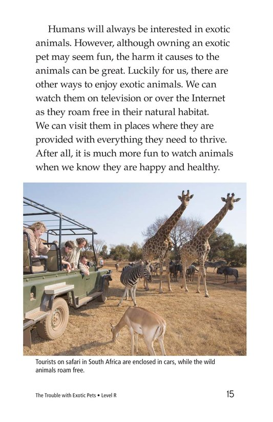 Book Preview For The Trouble with Exotic Pets Page 15