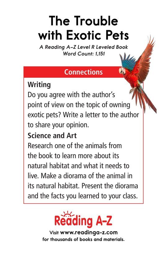 Book Preview For The Trouble with Exotic Pets Page 17