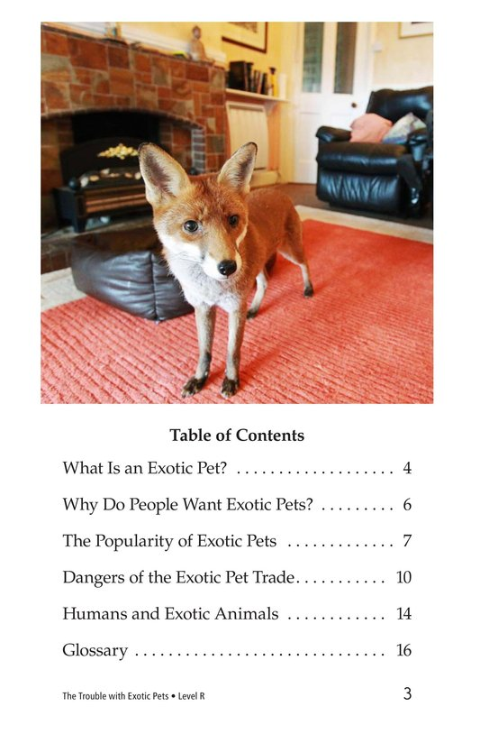 Book Preview For The Trouble with Exotic Pets Page 3