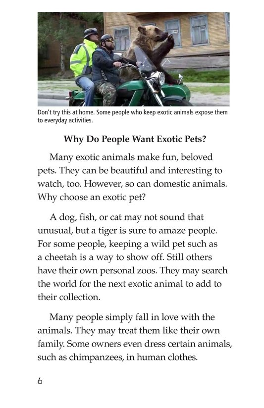 Book Preview For The Trouble with Exotic Pets Page 6