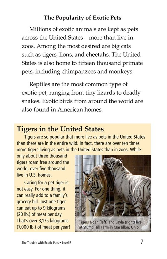 Book Preview For The Trouble with Exotic Pets Page 7