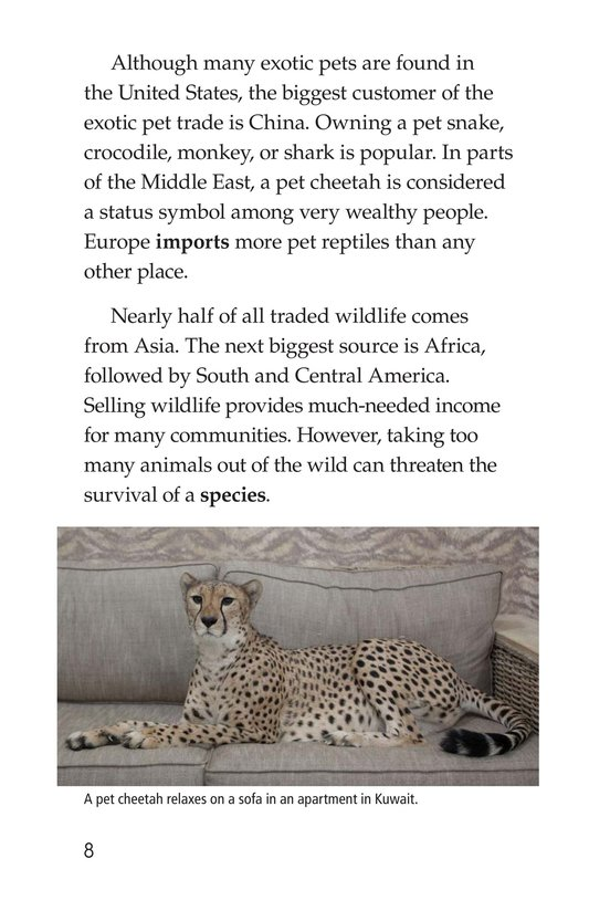 Book Preview For The Trouble with Exotic Pets Page 8